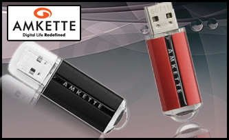 Amkette Robusto 8GB Flash Drive