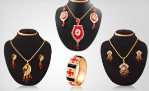 Stylish Designer Jewelry Set Combo
