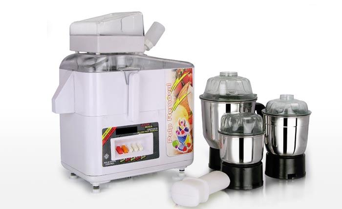 Jaipan Juicer Mixer Grinder with 3 S.S. JARS