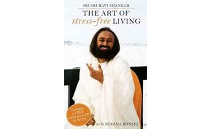 The Art Of Stress-Free Living (with Meditation CD) (Paperback)