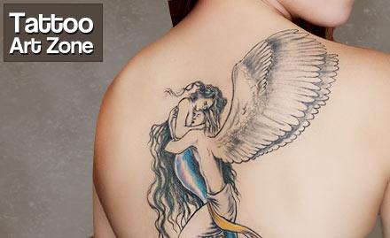 Tattoo art zone mydala kolkata