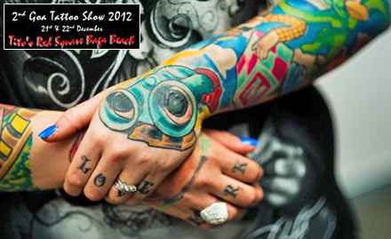 Goa International Tattoo Show 2012