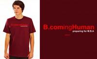 B.coming Human T-shirt