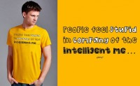 People feel stupid T-shirt