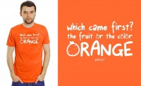 Funky Orange T-shirt