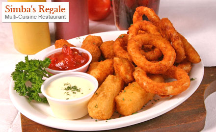 Simba 39 s regale multi cuisine restaurant restaurant for Cuisine regale