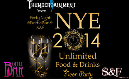 New Year Bash@Bottle Bar