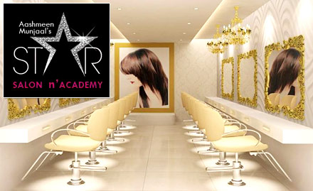 Aashmeen Munjaals Star Salon