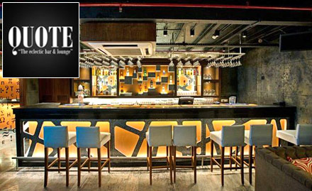 Quote- The Eclectic Bar and Lounge