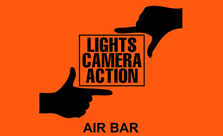 Lights Camera Action - Air Bar