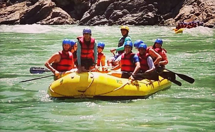 Weekend Rafting Camp