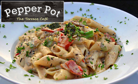 Pepper Pot - The Terrace Cafe