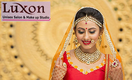 Luxon Unisex Salon & Makeup Studio