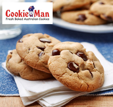15% off on cookies, brownies & more @ Cookie Man