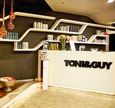 25% off on salon services @ Toni&Guy
