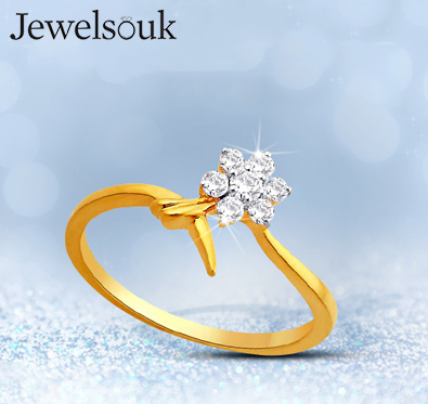 Rs 1000 off on diamond, silver jewellery & more @ Jewelsouk