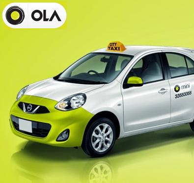First  Ride free @ Ola Cabs