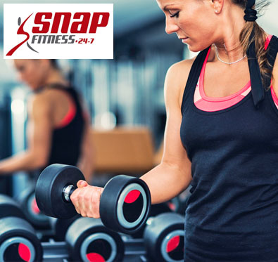 Get 3 trial gym sessions absolutely free @ Snap Fitness