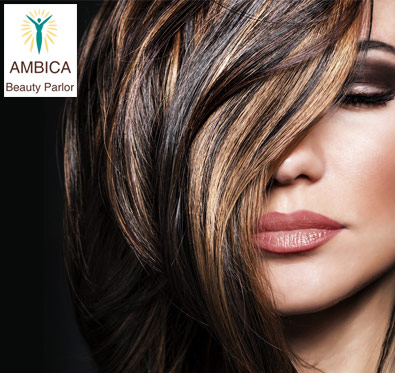 Rs 2599 for hair services @ Ambica Herbal Beauty Parlour