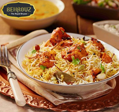 20% off on all orders @ Behrouz Biryani