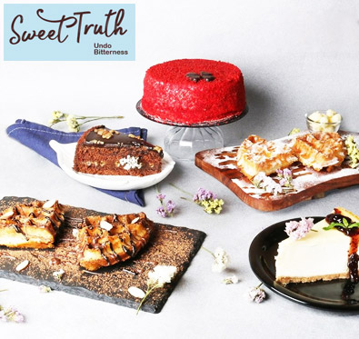 25% off on order @ Sweet truth
