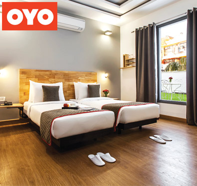 Flat 35% off on booking @ Oyo Rooms