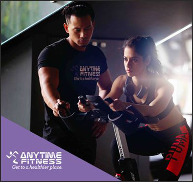 5 gym sessions at just Rs 99 @ Anytime Fitness